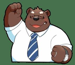 Daily bear dad sticker #12687116