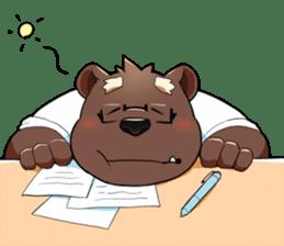 Daily bear dad sticker #12687118