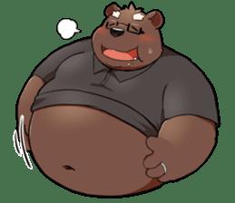 Daily bear dad sticker #12687122