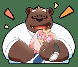 Daily bear dad sticker #12687126