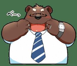 Daily bear dad sticker #12687131