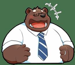 Daily bear dad sticker #12687132