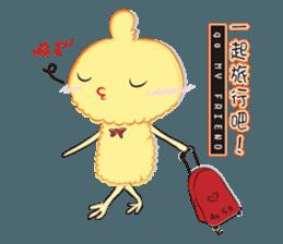 Chicken can not thin sticker #12688878