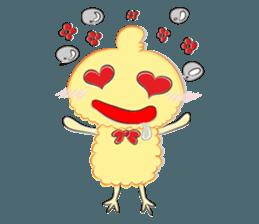 Chicken can not thin sticker #12688896