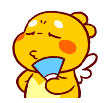 QooBee Agapi ~ ANIMATED Sticker sticker #12690693