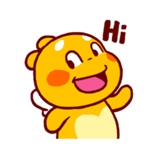 QooBee Agapi ~ ANIMATED Sticker sticker #12690697