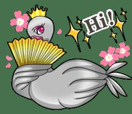Namua Morimoto & Black Swan sticker #12701605