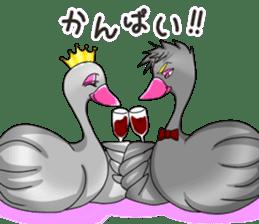 Namua Morimoto & Black Swan sticker #12701609