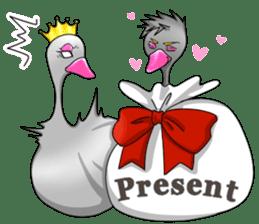 Namua Morimoto & Black Swan sticker #12701617