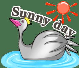 Namua Morimoto & Black Swan sticker #12701619