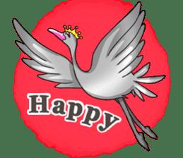 Namua Morimoto & Black Swan sticker #12701621
