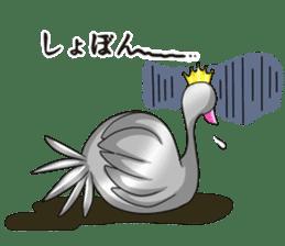Namua Morimoto & Black Swan sticker #12701623