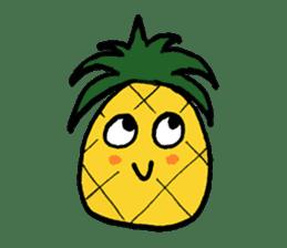 Pine-kun in Paradise sticker #12704281