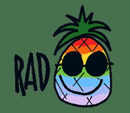 Pine-kun in Paradise sticker #12704284
