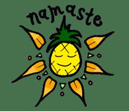 Pine-kun in Paradise sticker #12704289