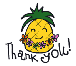 Pine-kun in Paradise sticker #12704290