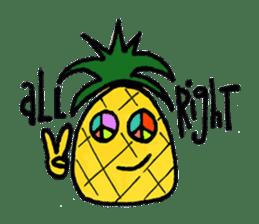Pine-kun in Paradise sticker #12704295