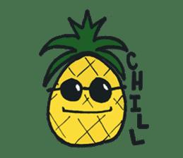 Pine-kun in Paradise sticker #12704297