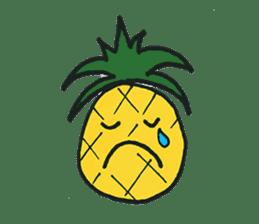 Pine-kun in Paradise sticker #12704310