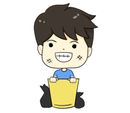The yong boy so troll + sticker #12706106