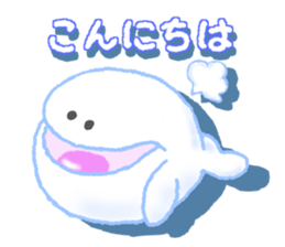 AIR whale sticker #12708511