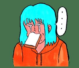 MIZUNOSHIZU sticker #12716037