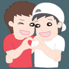 PJ | Cute Gay Couple 01