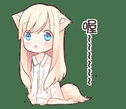 NEKOMIMI-MiA sticker #12723085