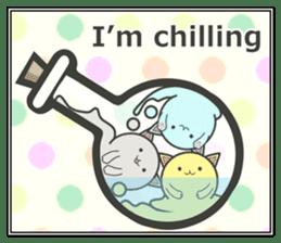 slime-cat Sticker sticker #12725992