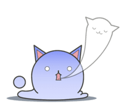slime-cat Sticker sticker #12726004
