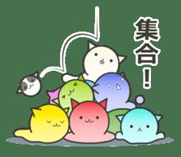 slime-cat Sticker sticker #12726005