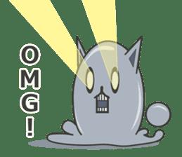 slime-cat Sticker sticker #12726010