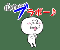 The fart man animation sticker sticker #12728028