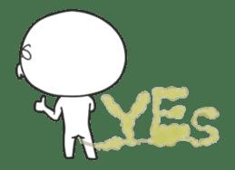 The fart man animation sticker sticker #12728043