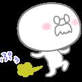 The fart man animation sticker
