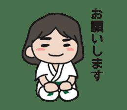 One frame with a karate friend sticker #12737958