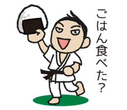 One frame with a karate friend sticker #12737965