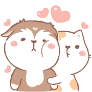 สติ๊กเกอร์ไลน์ Bepo & Coco : Love is calling