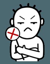 White Family Dook Dik sticker #12738679