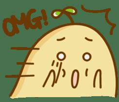 Lazy Potato Man sticker #12749245