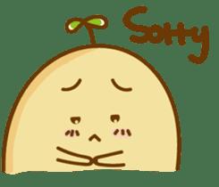 Lazy Potato Man sticker #12749248