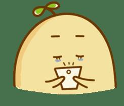 Lazy Potato Man sticker #12749255