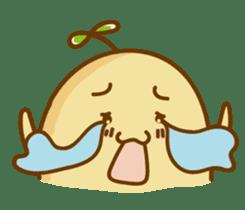 Lazy Potato Man sticker #12749258