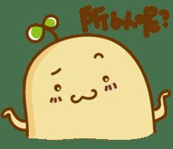 Lazy Potato Man sticker #12749263