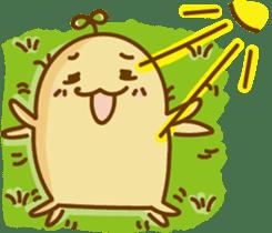 Lazy Potato Man sticker #12749268
