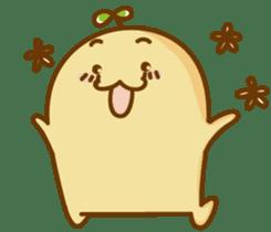 Lazy Potato Man sticker #12749269