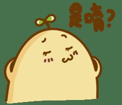 Lazy Potato Man sticker #12749270