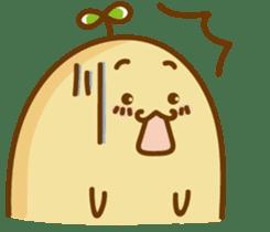 Lazy Potato Man sticker #12749277