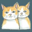 ヒグチユウコ 猫のボリス・スタンプ その2 - クリエイターズスタンプ