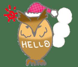 Healing of the OWL sticker #12762158